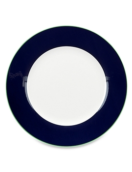 Kate Spade New York Hopscotch Drive™ Dinner Plate In Navy by Bed Bath And Beyond