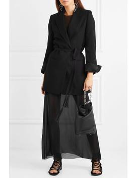 Belted Wool Blazer by Ann Demeulemeester