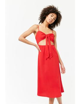 Self Tie Cutout Cami Dress by Forever 21