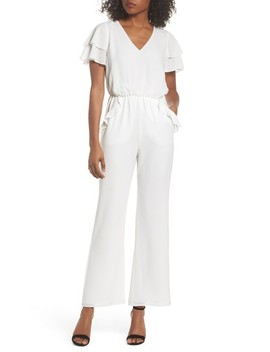 Love In The Air Ruffle Jumpsuit by Ali & Jay