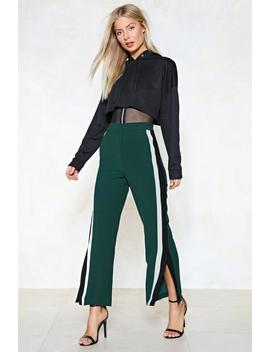 On The Line Striped Pants by Nasty Gal