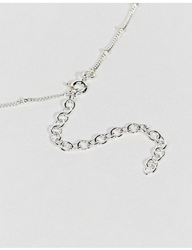 Kingsley Ryan Sterling Silver Ball & Chain Choker by Kingsley Ryan