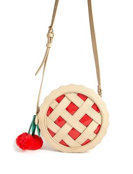 Cherry Pie Circle Crossbody Bag by F21 Contemporary