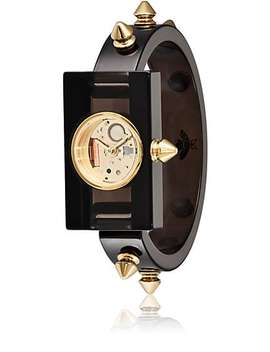 Spike Accented Plexiglas® Watch by Gucci