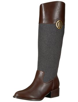 Tommy Hilfiger Women's Madelen Equestrian Boot by Tommy Hilfiger