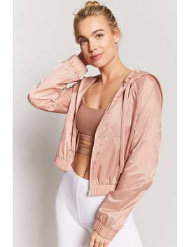 Active Zip Front Jacket by F21 Contemporary
