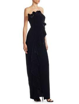 Annoziata Velvet Gown by Cinq à Sept