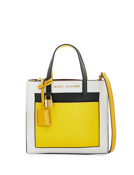 The Grind Colorblock Tote Bag by Marc Jacobs