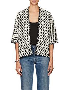 Capella Reversible Folkloric Cotton Jacket by Ace & Jig