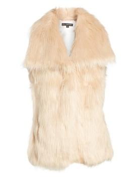 Faux Fur Vest by Via Spiga