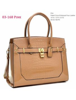 New Womens Handbags Faux Leather Satchel Tote Shoulder Bag Large Purse Briefcase by Dasein®
