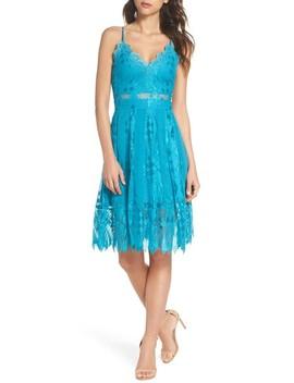 Calla Geometric Lace Dress by Foxiedox