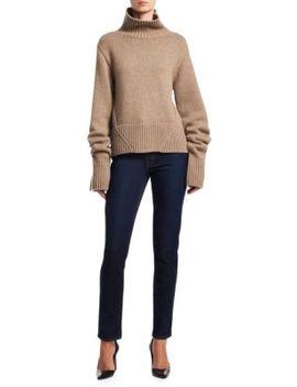 Wallis Cashmere Turtleneck Sweater by Khaite