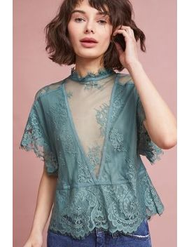 Annie Lace Blouse by Flannel