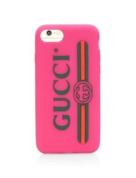 Textured Rubber I Phone Case by Gucci