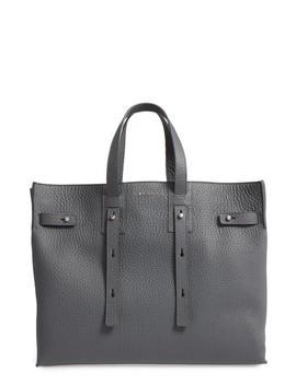 Petra Soft Calfskin Leather Tote by Orciani