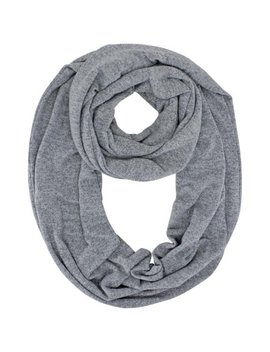 Jersey Knit Circle Infinity Loop Scarf by Luxury Divas