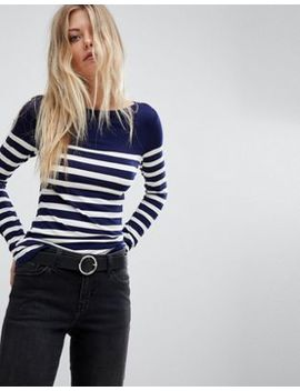 Oasis Stripe Long Sleeve Top by Oasis