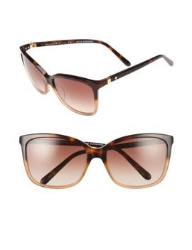 Kasie 55mm Cat Eye Sunglasses by Kate Spade New York