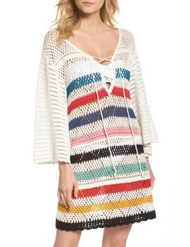 Pacific Crochet Cover Up Dress by Muche Et Muchette