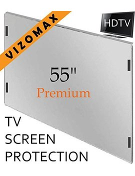 55 Inch Vizomax Tv Screen Protector For Lcd, Led Or Plasma Hdtv by Vizomax
