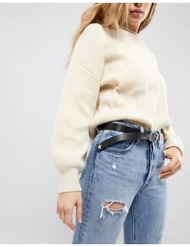 Asos Star Tipped Waist & Hip Boyfriend Belt by Asos Collection