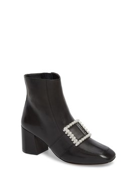 Cadence Buckle Bootie by Linea Paolo