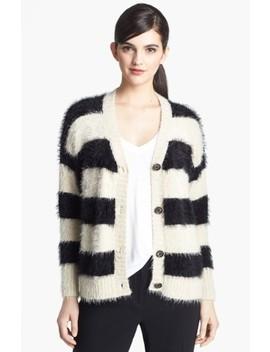 Stripe Textured Sweater by Ro & De