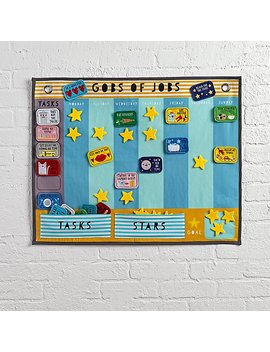 Gobs Of Jobs Activity Chart by The Land Of Nod