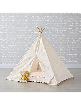 Pink Floral Teepee by The Land Of Nod