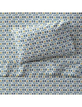 Organic Stained Glass Toddler Sheet Set by The Land Of Nod