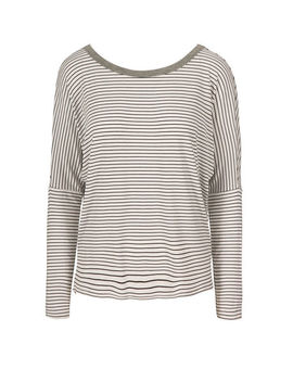 Cowl Back Long Sleeve Tee by Ricki's