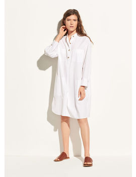 Utility Cotton Shirtdress by Vince