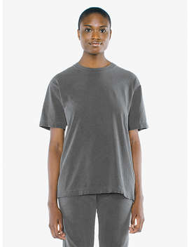 Unisex Heavy Jersey Box T Shirt by American Apparel
