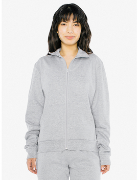 Unisex California Fleece Track Jacket by American Apparel