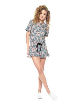 Washed Pineapple Romper by Juicy Couture