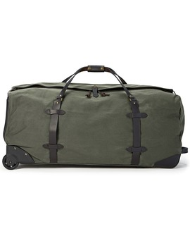 Extra Large Rugged Twill Rolling Duffle Bag by Filson