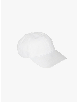 Cotton Twill Baseball Hat by American Apparel