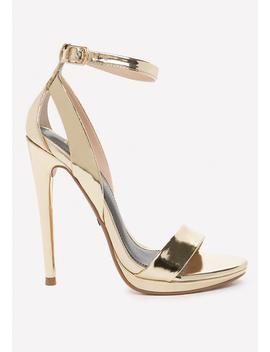 Selina High Shine Sandals by Bebe