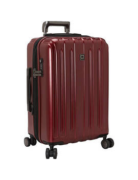Helium Titanium Carry On Expandable Spinner Trolley by Delsey