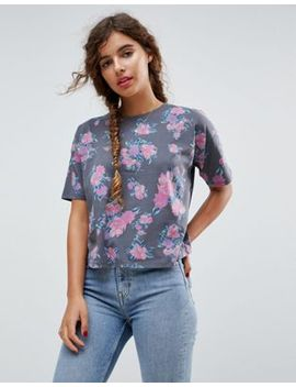 asos-t-shirt-in-floral-print by asos-collection