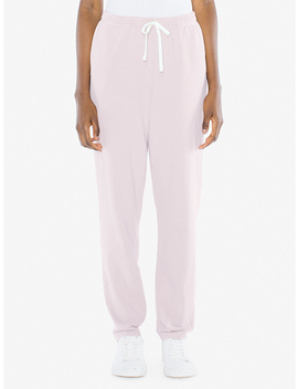 Unisex French Terry Straight Leg Pant by American Apparel