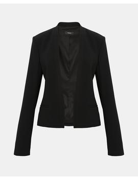 Crepe Clean Blazer by Theory