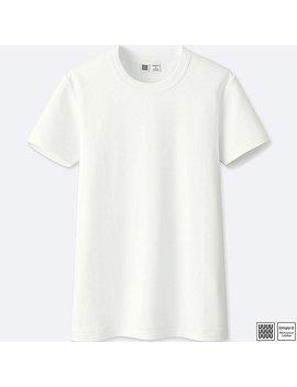 damen-u-100%-baumwoll-t-shirt by uniqlo