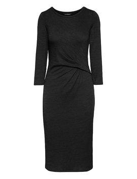 Soft Jersey Twist Front Dress by Banana Repbulic