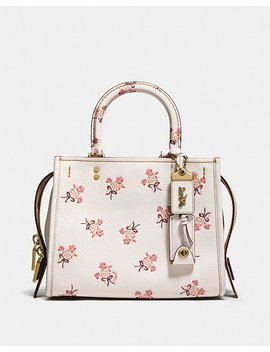 Rogue 25 With Floral Bow Print by Coach