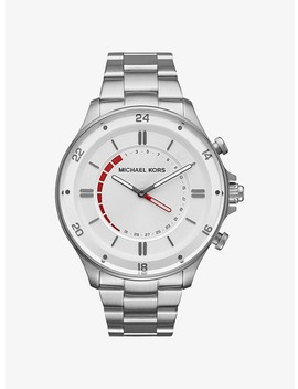 Reid Silver Tone Hybrid Smartwatch by Michael Kors Access