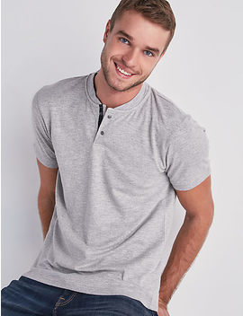 Stretch Grindle Henley by Lucky Brand