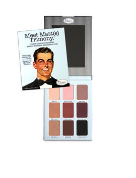 Meet Matt(E) Trimony.Matte Eyeshadow Palette by The Balm Cosmetics
