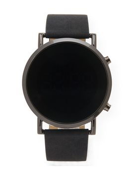 Faux Suede Led Digital Watch by Aeropostale